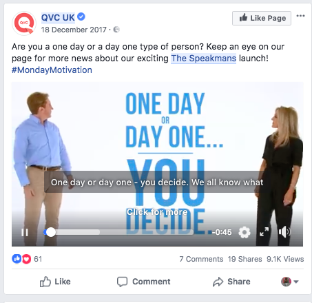Pre Show Promotion The Speakmans Facebook